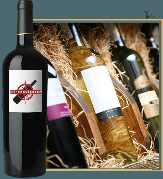 butelki z winem