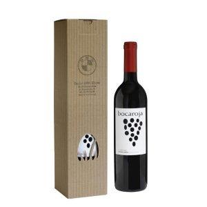 kartonik na 1 butelkę wina z otworem z logo bmw
