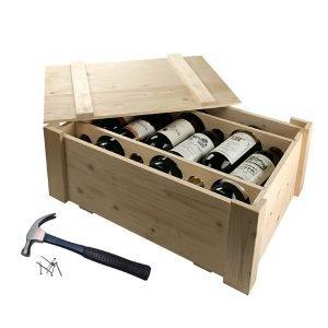 skrzyneczka na 6 butelek wina